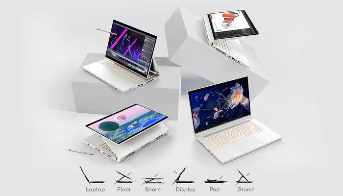 Acer ConceptD 3 Ezel Pro Mode