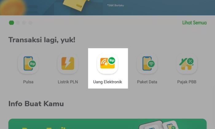 Cara Cek Saldo e-money di Handphone - 2