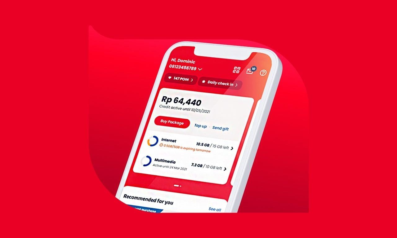 Cara Paketin Pulsa Jadi Kuota Internet Telkomsel - Header