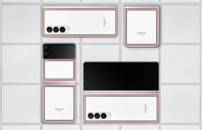 Edisi-Thom-Browne-Samsung-Galaxy-Z-Fold3-dan-Z-Flip3