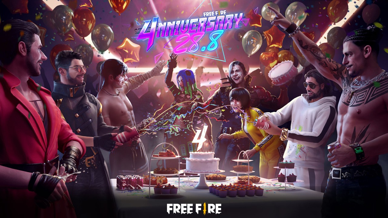 Free Fire 4nniversary Feature