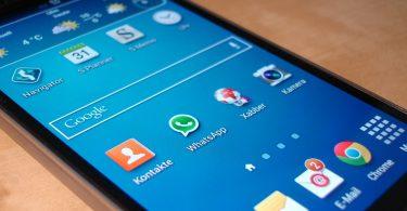 Handphone WhatsApp Old