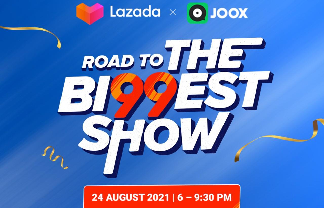 Konser-Musik-JOOX-Live-Festival-Belanja-LAZADA-The-Bi99est-Show