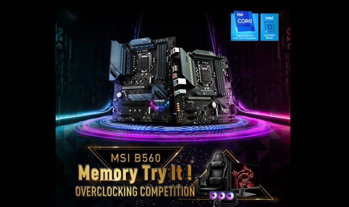 MSI B560 Overclock Tournament