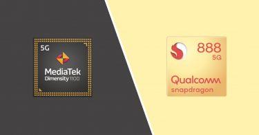 MediaTek Dimensity 1100 Vs Qualcomm Snapdragon 888 Header