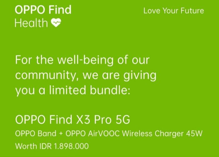 OPPO-Find-Health-OPPO-Find-X3-Pro-5G-Free-Gifts-
