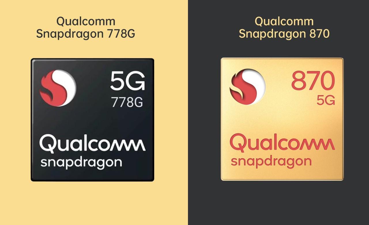 Qualcomm Snapdragon 778G vs 870