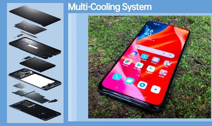Reno6 Multi Cooling System