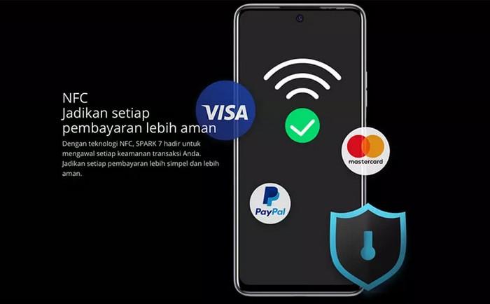 TECNO Spark 7 NFC Bayar