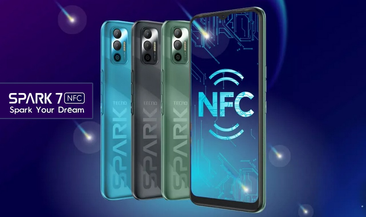 TECNO Spark 7 NFC Feature