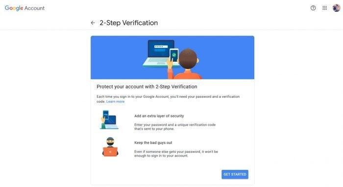 Verifikasi 2 Langkah YouTube Start