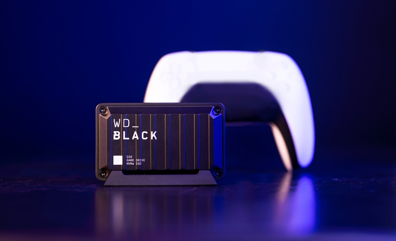 WD_BLACK™ D30 Game Drive SSD Feature