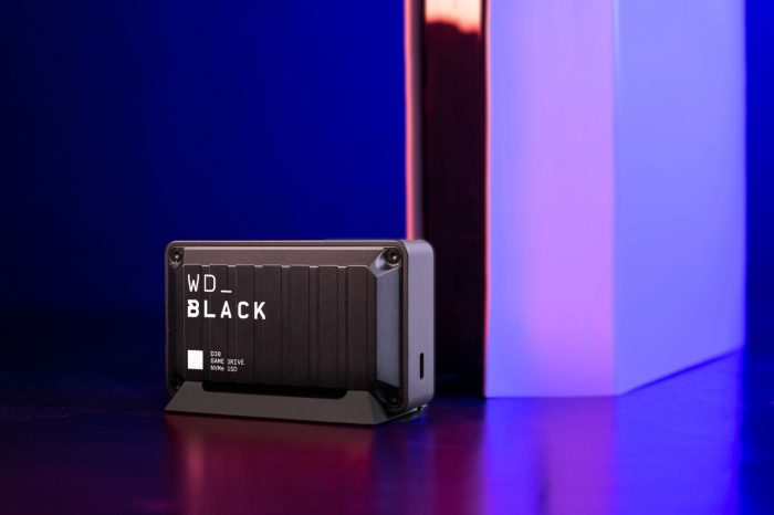 WD_BLACK™ D30 Game Drive SSD Front