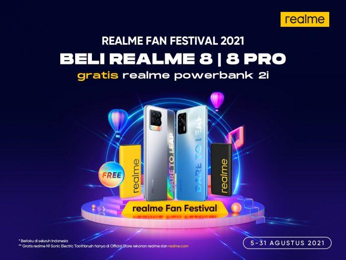 realme 8 realme 8 Pro Hadiah