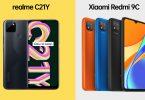 realme C21Y vs Xiaomi Redmi 9C
