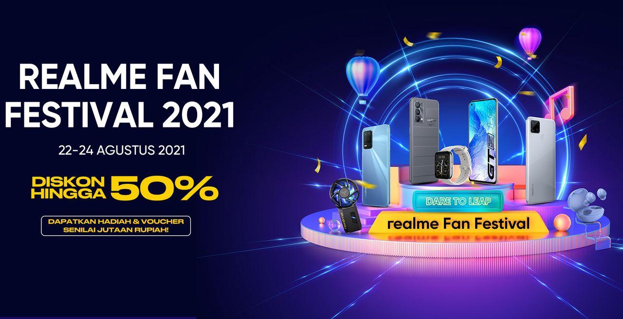realme Fan Festival 2021 Header