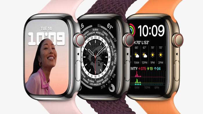 Apple-Watch-Series-7-graphite-silver-gold