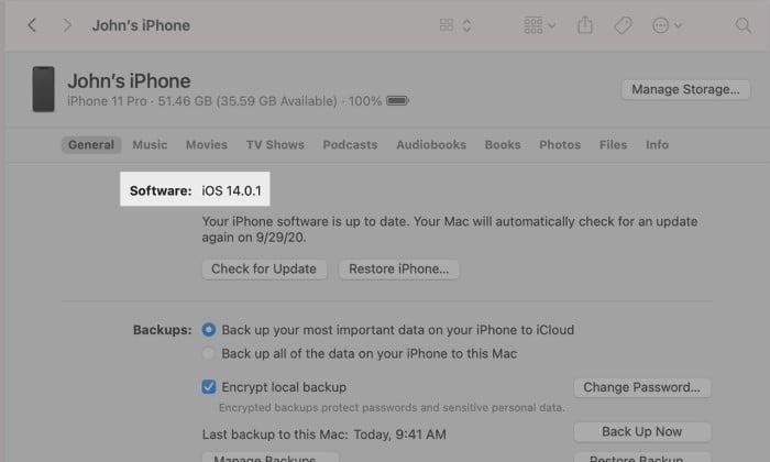 Cara Melihat Versi iOS di iPhone - 2