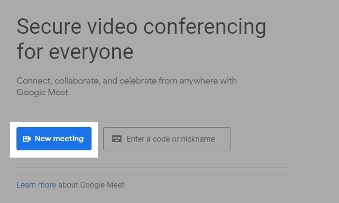 Cara Membuat Undangan Google Meet 5