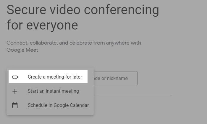 Cara Membuat Undangan Google Meet 6