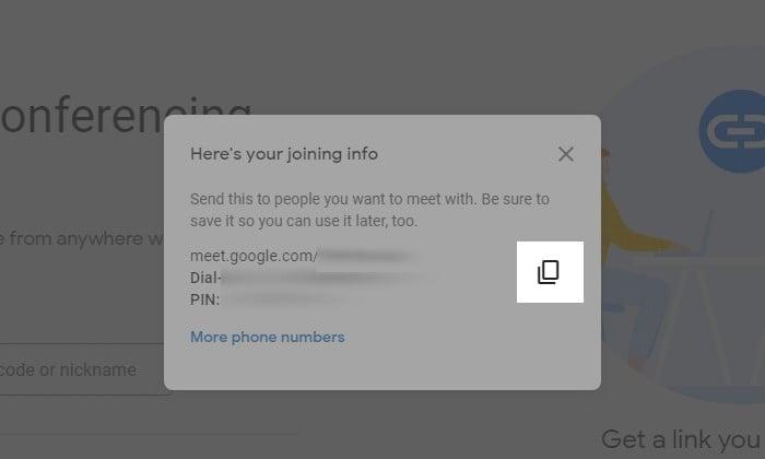 Cara Membuat Undangan Google Meet 7