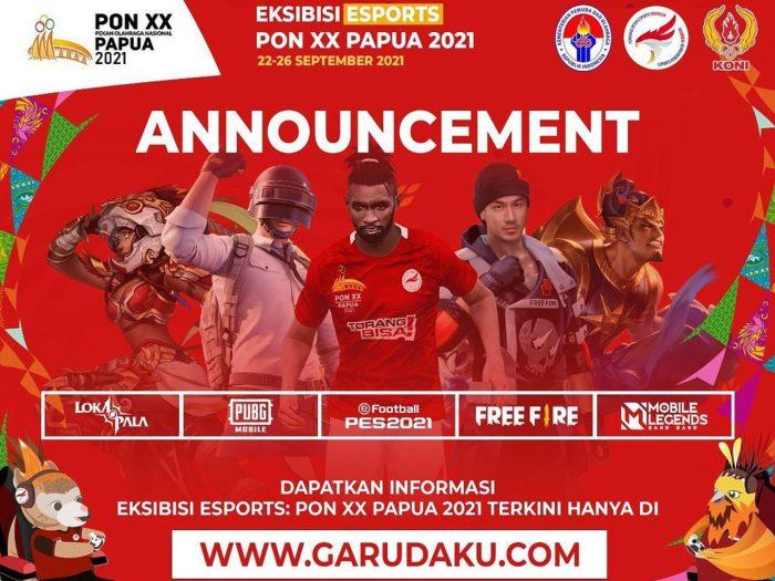 Eksibisi Esports PON XX Papua 2021