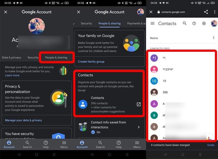 Google Account Handphone 2