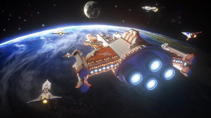 Mini World CREATA Starship