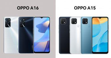 OPPO A16 vs OPPO A15