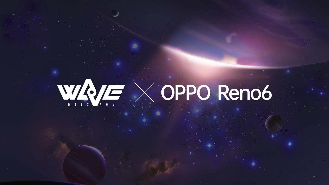 OPPO Reno6 x WaVe