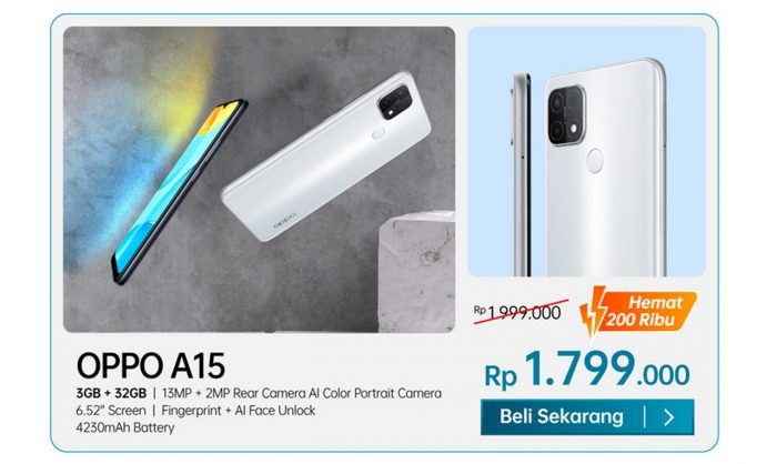 OPPO Special Payday A15