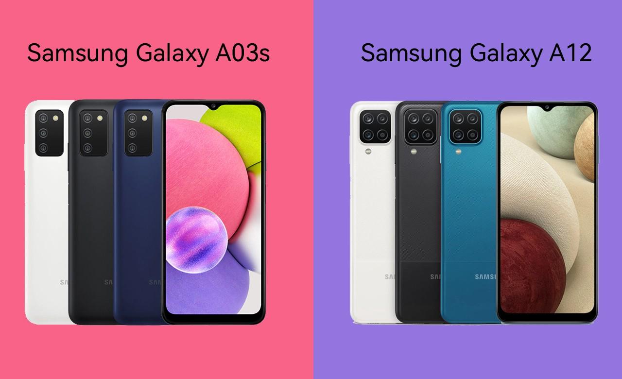 Samsung Galaxy A03s Vs Galaxy A12