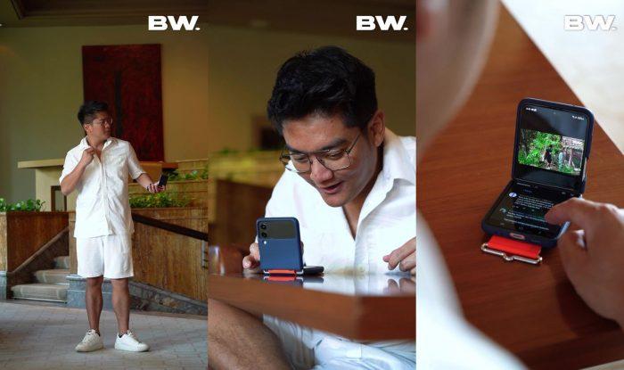 Samsung Galaxy Z Flip3 5G Flex Mode