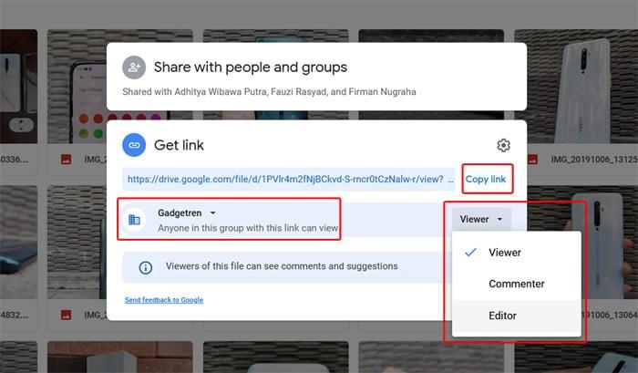 Share Link Google Drive Get Link 2