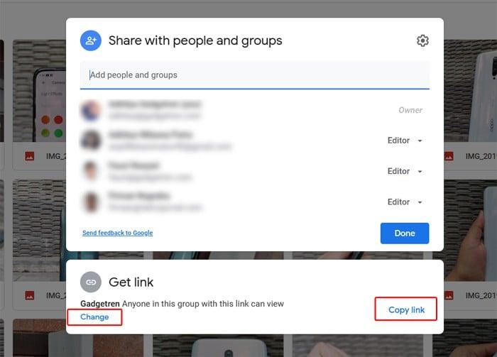 Share Link Google Drive Get Link