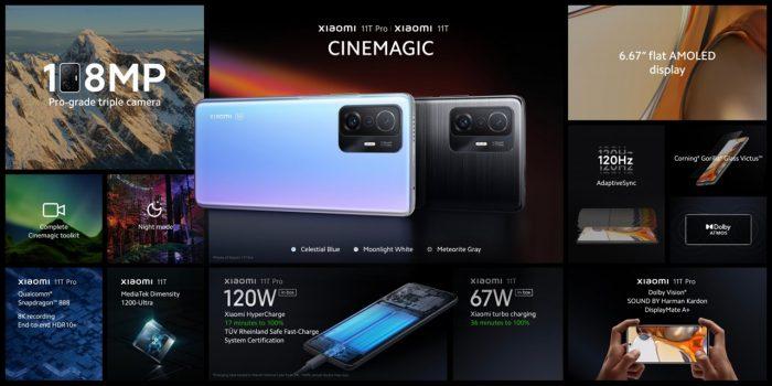Xiaomi 11T All Spec