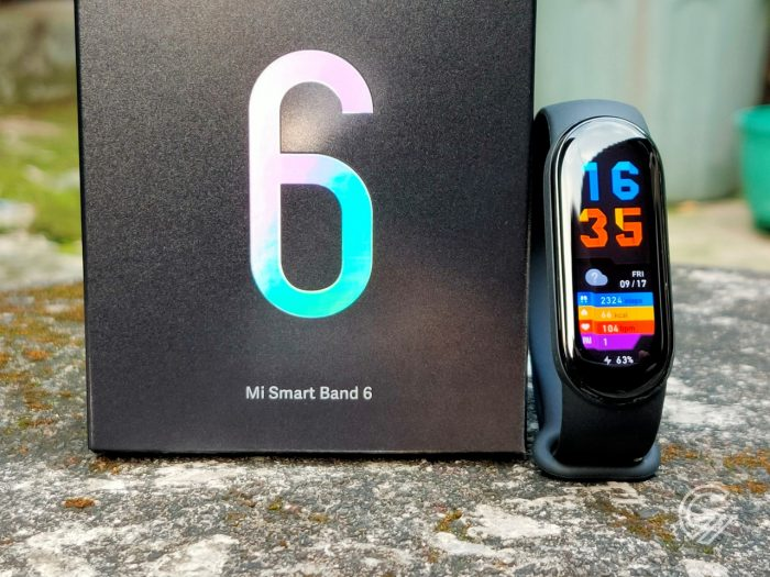 Xiaomi Mi Smart Band 6 - Dus and Band