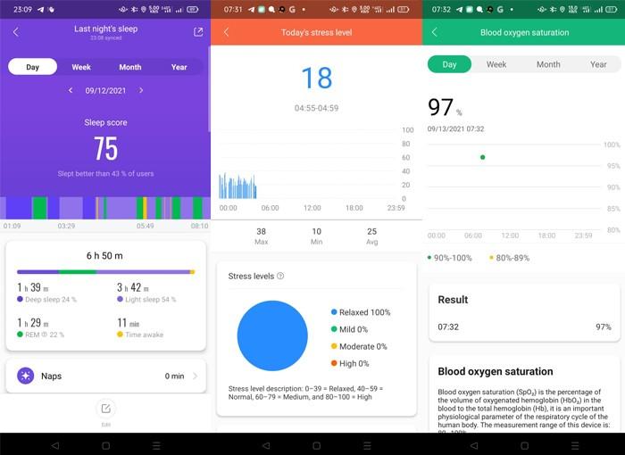 Xiaomi Mi Smart Band 6 - Sleep Quality