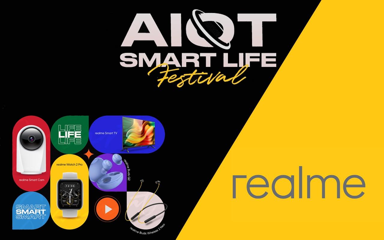 realme AIoT Smart Life Festival New