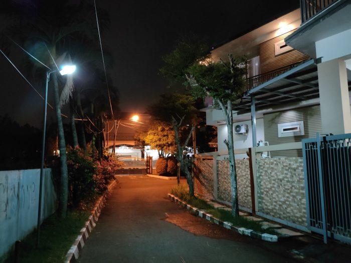 realme GT Master Edition Kamera Belakang Malam Auto