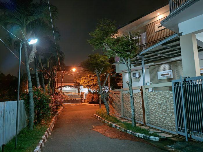realme GT Master Edition Kamera Belakang Malam Night