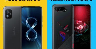 ASUS Zenfone 8 vs ROG Phone 5