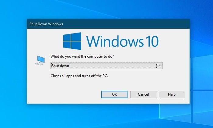 Cara Shutdown Laptop Dengan Keyboard - Windows