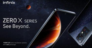 Infinix Zero X Series Banner