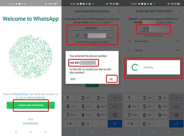 Restore WhatsApp Part 1