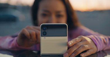 Samsung Galaxy Z Flip3 5G Foto Flex Mode