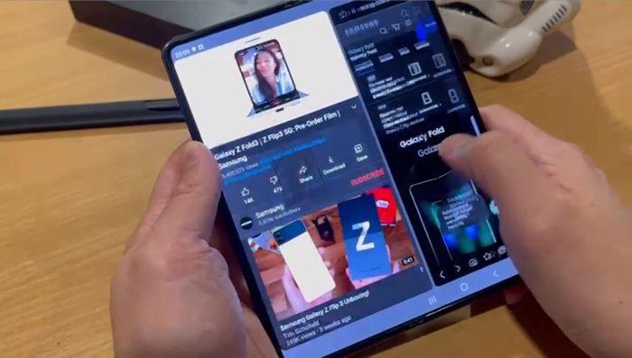 Samsung Galaxy Z Fold3 5G Axton Salim - 2